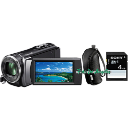 Sony HDR-CX200 black+...
