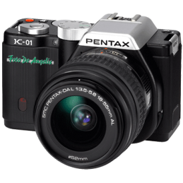 Pentax K-01 black + 18-55