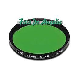Hoya D52 filtro verde X1 HMC