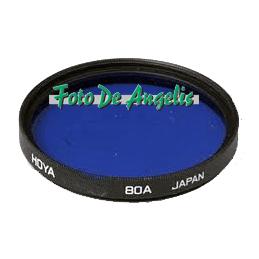 Hoya D58 filtro 80A azzurro...