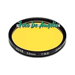 Hoya D62 filtro giallo K2 HMC