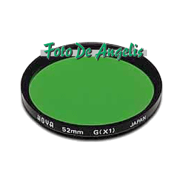 Hoya D67 filtro verde X1 HMC