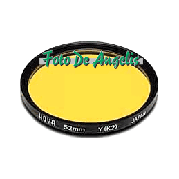 Hoya D72 filtro giallo K2 HMC