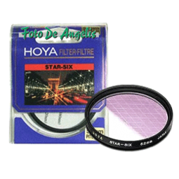Hoya D55 filtro Star Six...