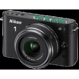 Nikon 1 J2 black + 11-27