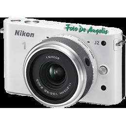 Nikon 1 J2 white + 11-27