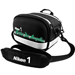 Nikon 1 System Bag black white