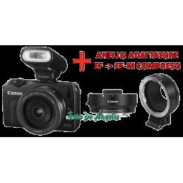 Canon Eos-M + 22 STM Black+...