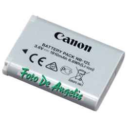 Canon NB-12L Battery Pack dsc