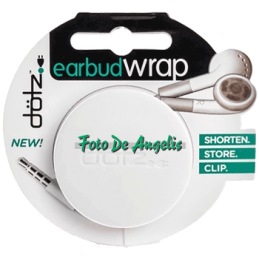 Dotz   Earbud Wrap  White