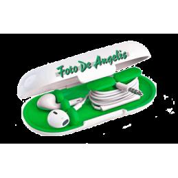 Dotz   Earbud Case  Green...