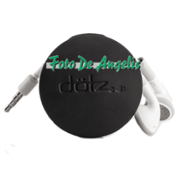 Dotz   Earbud Wrap  Black
