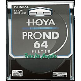 Hoya D72 filtro ND64 Pro 6...