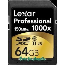 Lexar SDHC 1000x 64 Gb