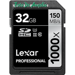 Lexar SDHC 1000x 32 Gb