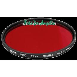 Hoya D77 filtro rosso 25A HMC