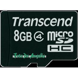 Transcend MicroSDHC 8 Gb...