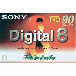 Sony N-8 60 digital 8 nastro