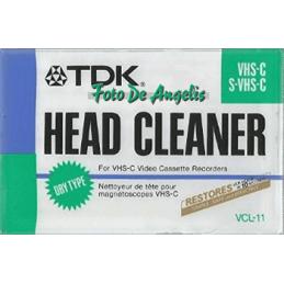 TDK VHS-C puliscitestine