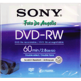 Sony DMW 60 2x speed 2,8gb...