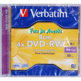 Verbatim DVD+RW 1,4gb 4x 8cm