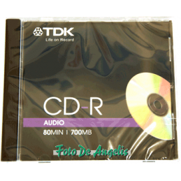 TDK CD-R 80 AUDIO recordable