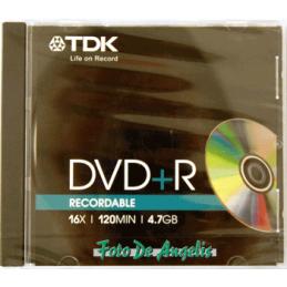 TDK DVD+R 4,7GB 16x speed...