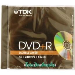 TDK DVD+R 8,5GB 8x double...