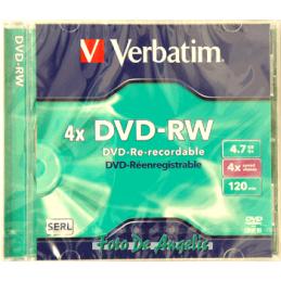 Verbatim DVD-RW 4,7GB 4x speed