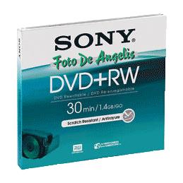 Sony DVD+RW 1,4GB 8cm DPW 30
