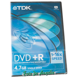 TDK DVD+R Videobox