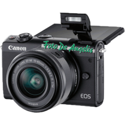 Canon Eos M100 + 15-45 IS...