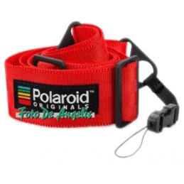 Polaroid Camera Strap Flat Red