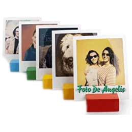 Polaroid Photo Stand Rainbow