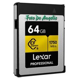 Lexar  CF 64 Gb Express Type B