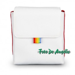 Polaroid Now Bag White & Red