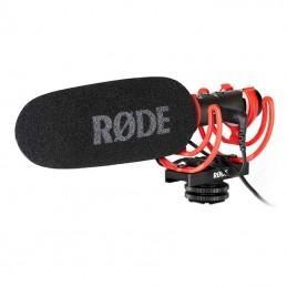 Rode VideoMic NTG on camera...