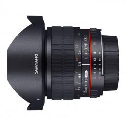 Samyang 8 mm F3,5 per Canon...