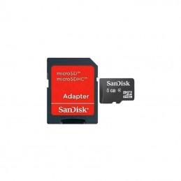 Sandisk Micro SDHC 8 Gb con...