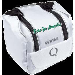 Pentax borsa sistema Q bianca