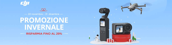 DJI Black friday top banner