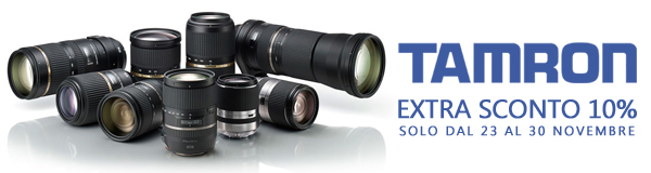 Tamron black friday banner